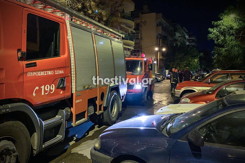 Θεσσαλονίκη: Εμπρηστική επίθεση σε οχήματα εταιρείας security τα ξημερώματα, φωτογραφία-1