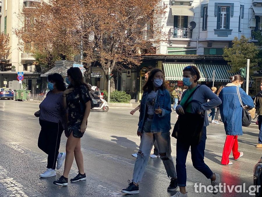 Πειθάρχησαν στη χρήση μάσκας παντού οι Θεσσαλονικείς (φωτο & video), φωτογραφία-3