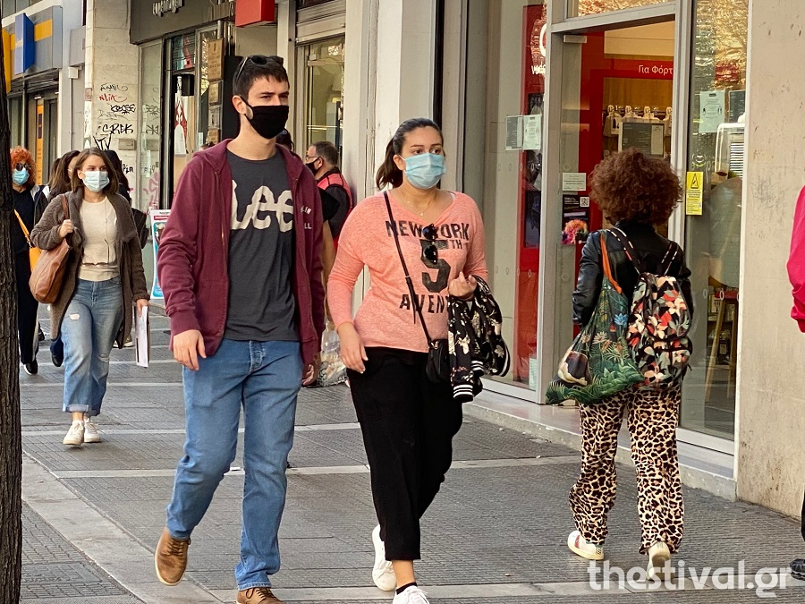 Πειθάρχησαν στη χρήση μάσκας παντού οι Θεσσαλονικείς (φωτο & video), φωτογραφία-2