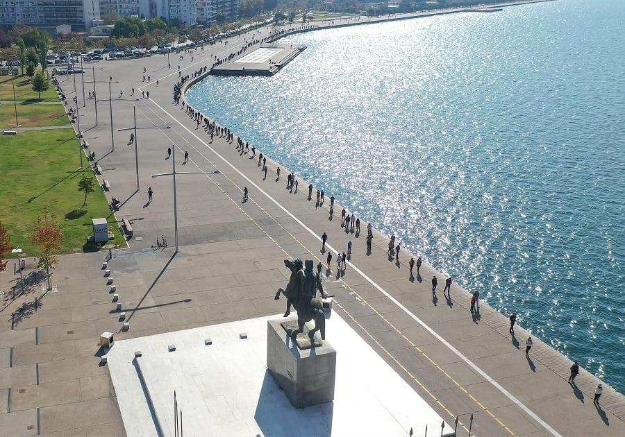 Θεσσαλονίκη 2020: Το ημερολόγιο της καραντίνας – Μια πόλη σε lockdown, φωτογραφία-25