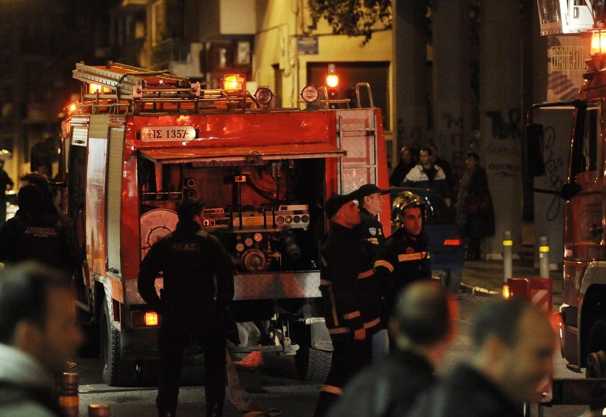 Φωτιά σε κέντρο φιλοξενίας προσφύγων στη Θεσσαλονίκη