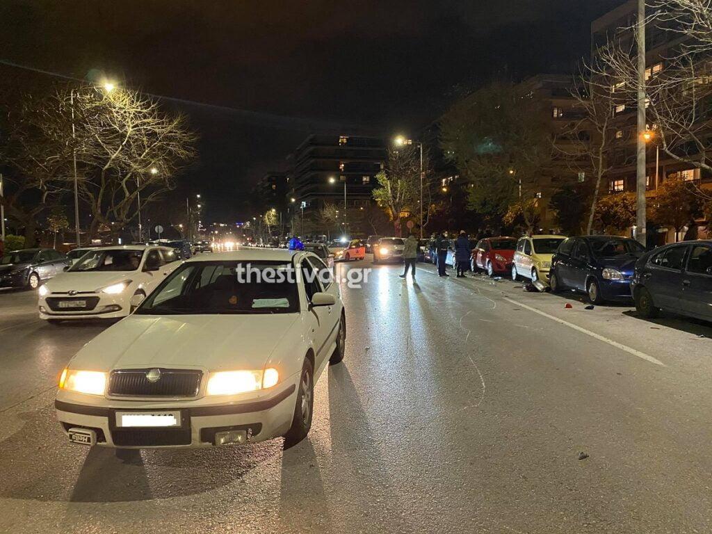Θεσσαλονίκη: Τροχαίο ατύχημα με εγκατάλειψη στη Μεγάλου Αλεξάνδρου – Ένας τραυματίας, φωτογραφία-1
