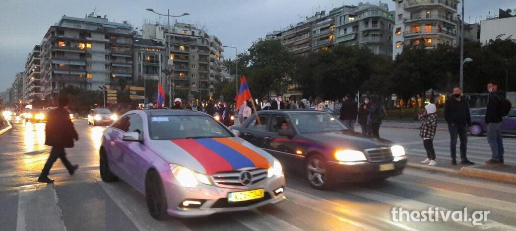 Φωταγωγήθηκε για την Αρμενική Γενοκτονία ο Λευκός Πύργος, φωτογραφία-3