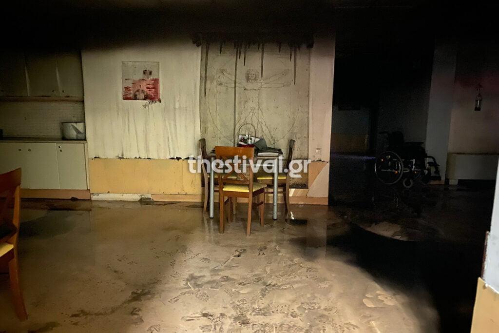 Θεσσαλονίκη: Φωτιά σε ίδρυμα παιδιών με αναπηρία[video]