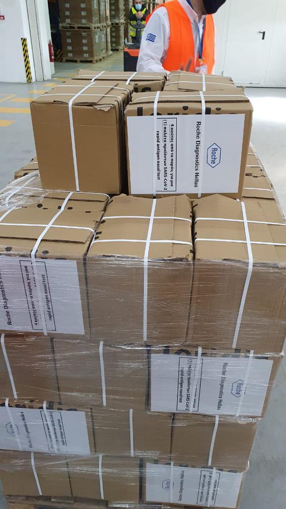 Έφτασαν στην Ελλάδα 1 εκατ. self test – Από αύριo η διανομή στα φαρμακεία, φωτογραφία-1