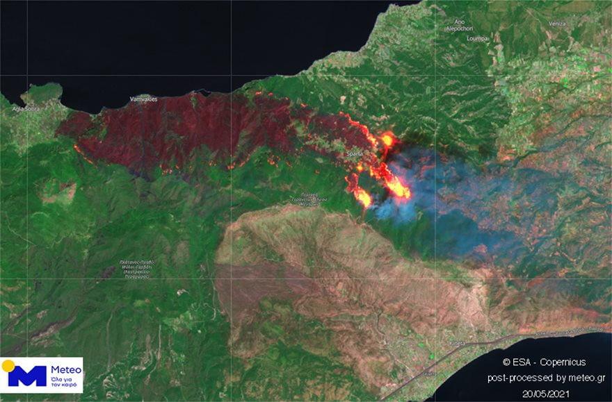 Αναζωπύρωση της φωτιάς στα Μέγαρα Αττικής: Εκκενώνεται ο οικισμός Παπαγιαννέικα, φωτογραφία-1