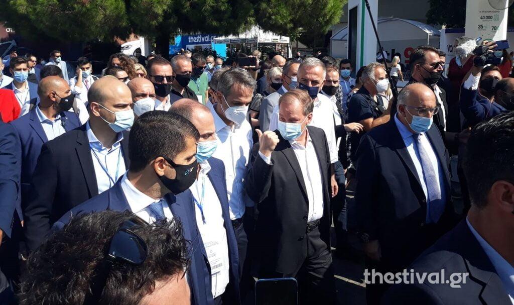 Κ. Μητσοτάκης: Τέλος του 2023 το μέτρο Θεσσαλονίκης θα είναι έτοιμο – H βόλτα στα περίπτερα της ΔΕΘ, φωτογραφία-1