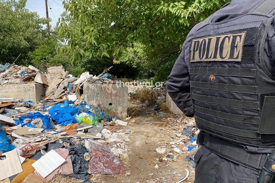 Θεσσαλονίκη: Σε ανθρωποκτονία αποδίδεται ο θάνατος του άνδρα που βρέθηκε  νεκρός σε παράπηγμα